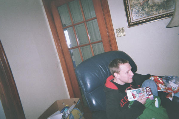 Christmas 2011, Kyle - my 2nd oldest son