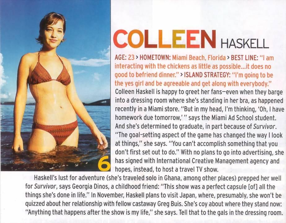 colleen haskell wiki